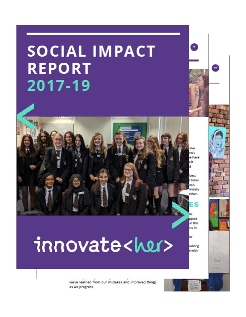 title of social impact report document